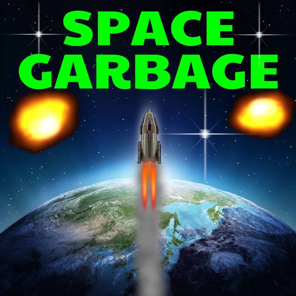 Space Garbage : A Galaxy Cleanup Operation!
